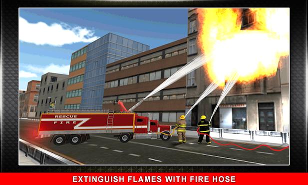 911 Rescue Fire Truck 3D Sim v1.0.5