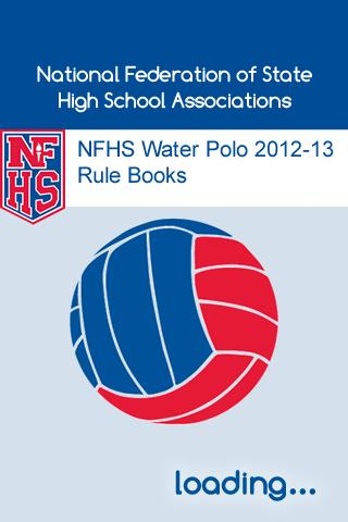 NFHS Water Polo 2012-13 Rules