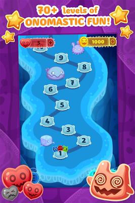 oNomons Journey - Match 3 - screenshot