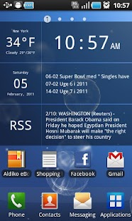 Glass Widgets Unlocker - screenshot thumbnail
