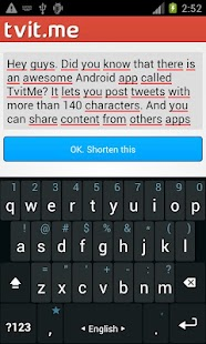 Tvit.Me - Long tweet writer - screenshot thumbnail