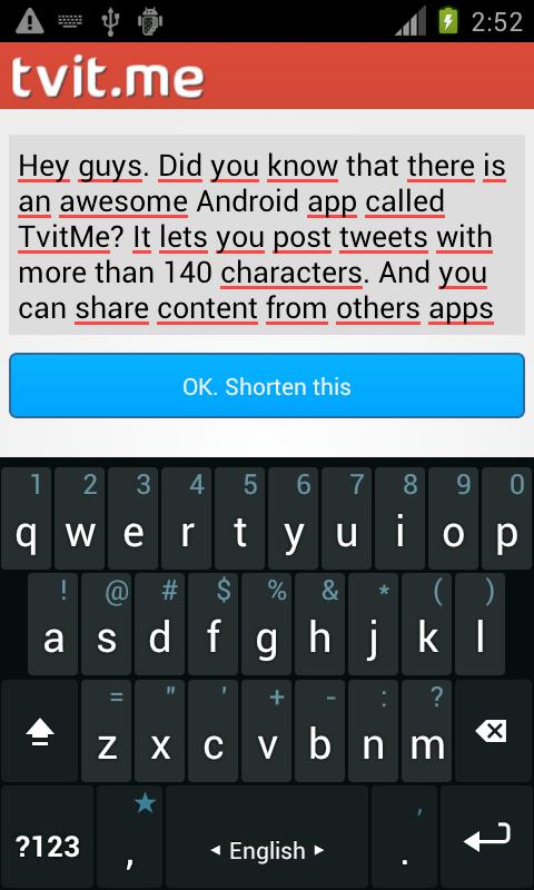 Tvit.Me - Long tweet writer - screenshot