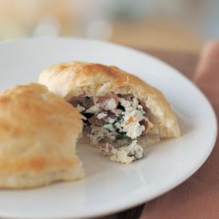 Pancetta, Ricotta and Spinach Calzone