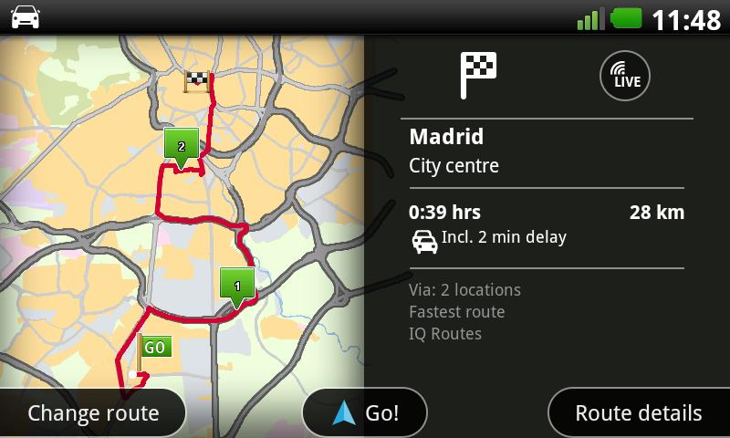 TomTom Iberia- screenshot