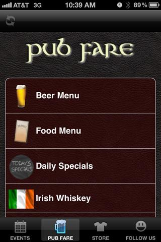 O'Briens Irish Pub - Temple TX- screenshot