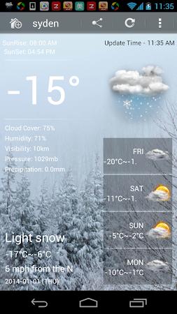 Weather Ultimate 1.6.3 screenshot 7041