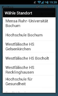 Mensa Bochum- screenshot thumbnail