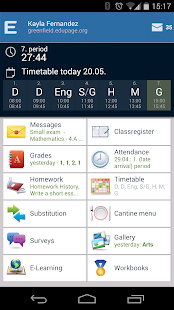 EduPage- screenshot thumbnail