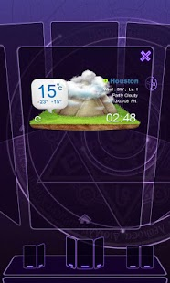 Next Launcher Theme 3D Magic Screenshot 5