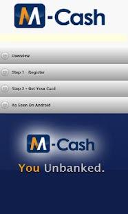 M-Cash(tm) Wallet - screenshot thumbnail