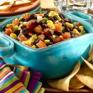 Black Bean Salsa.