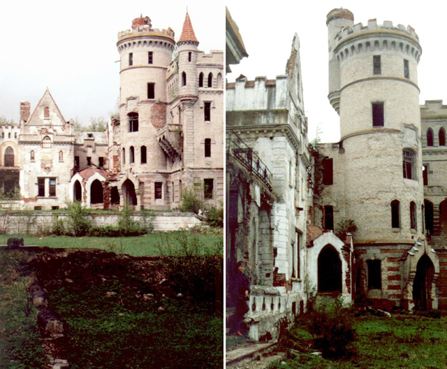 Dark Roasted Blend: Abandoned Castles of Russian Countryside