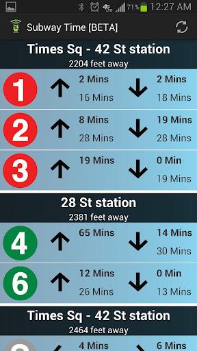NYC Subway Times [MTA BETA]