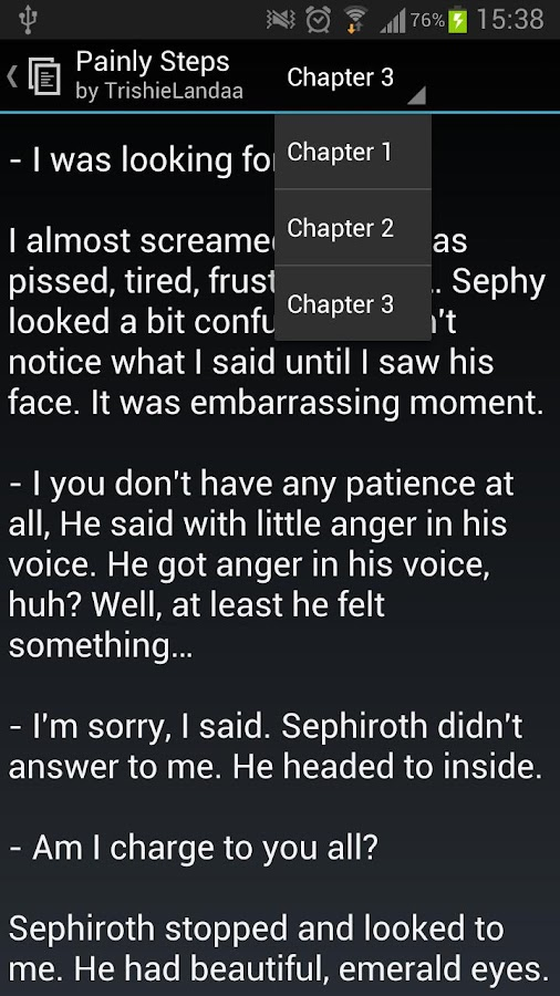 FanFiction Reader - screenshot