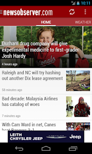 News & Observer (N&O): Mobile - screenshot thumbnail
