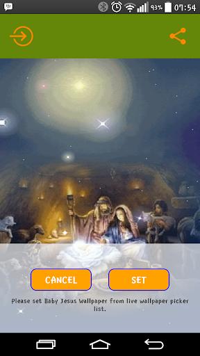Baby Jesus Live Wallpaper