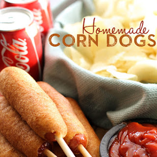 EASY Homemade Corn Dogs