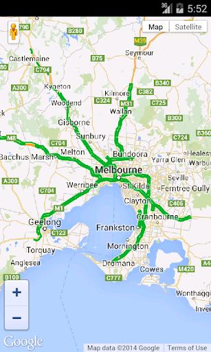 Australia Traffic Map