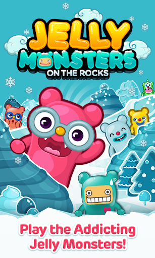Jelly Monsters on the Rocks