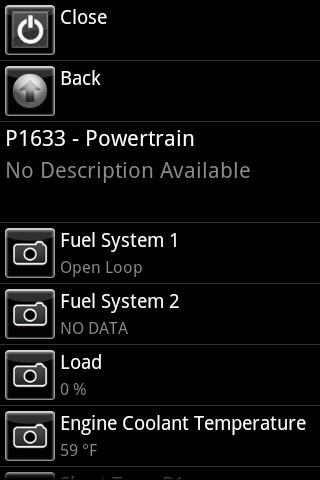 Car Gauge Lite OBD2 - screenshot