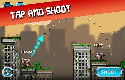 City Monkey: Pixel Artillery Screenshot 1