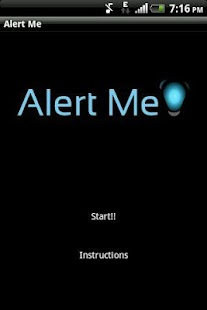 Alert Me! - screenshot thumbnail