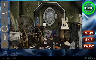 Screenshot of Haunted House Hidden Objects