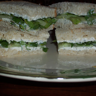 Cucumber & Watercress Sandwich