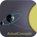 Earth and Space - Free icon