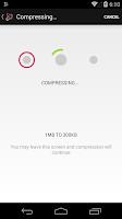Screenshot of Video Message Compressor