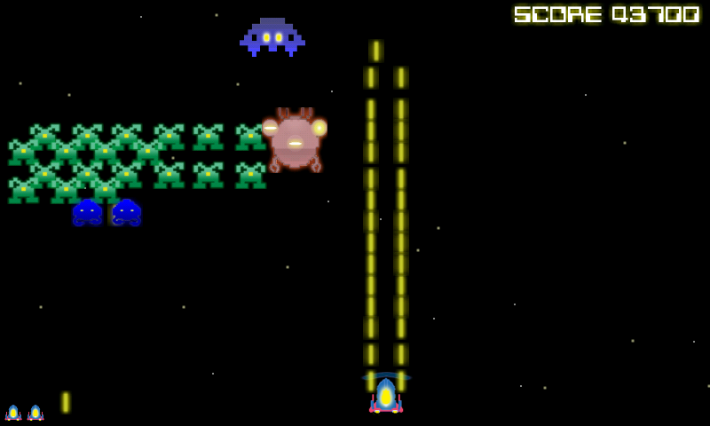 Space Intruders- screenshot