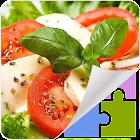 ケーキと食品のパズル icon