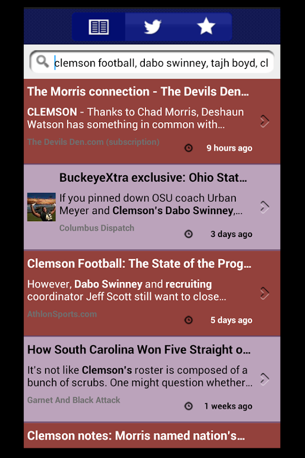 Clemson Sports Talk- screenshot