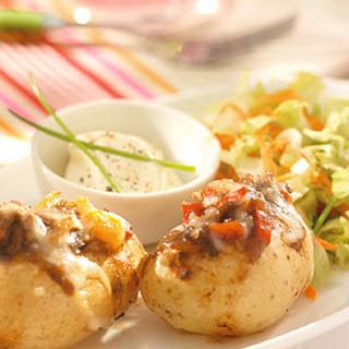 Aardappelen In De Schil Met Gehaktvulling