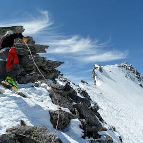 Up we go by Igor Gruber - Sports & Fitness Climbing ( climbing,  )