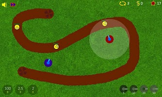 Screenshot of Endroid Defense