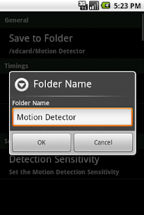 Secure My Home -Thief Detector - screenshot thumbnail