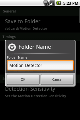 Secure My Home -Thief Detector - screenshot