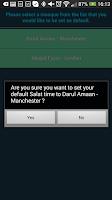 Screenshot of MKA UK Salat App