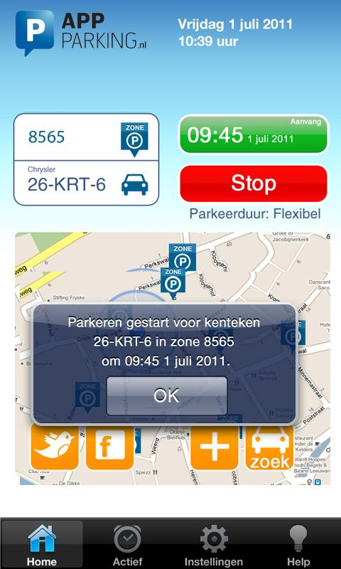App-Parking- screenshot