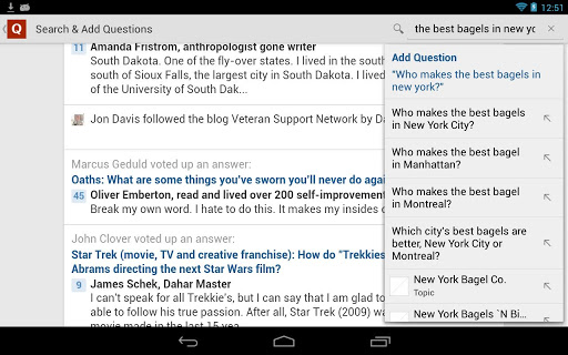 Top Application and Games Free Download Quora 1.1.7 APK File