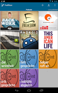 Podflitzer Podcast Player- screenshot thumbnail