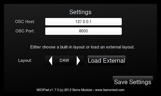 OSCPad- screenshot thumbnail