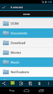 Discoverer(Linda File Manager)- screenshot thumbnail