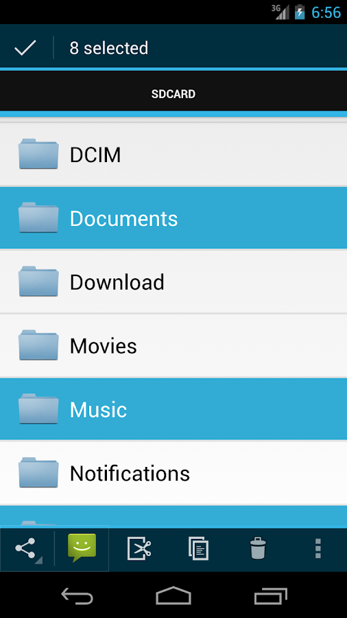 Discoverer(Linda File Manager)- screenshot