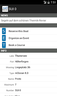 SAILBOX boatsharing – Miniaturansicht des Screenshots