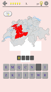 Swiss Cantons - Switzerland Quiz- screenshot thumbnail