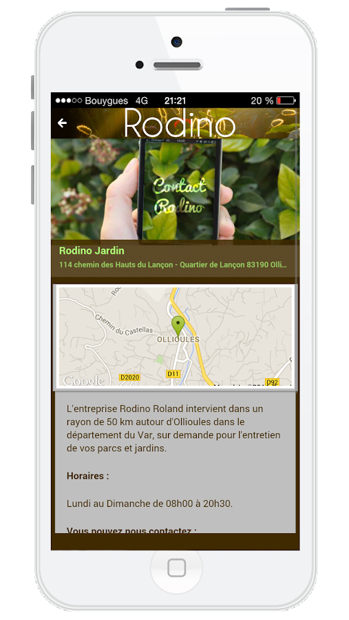 Rodino jardin android apps on google play for Jardin google translate