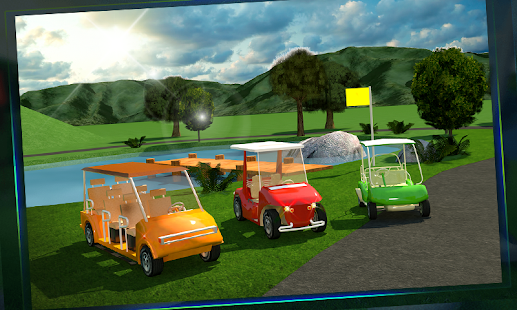 Golf-Cart-Simulator-3D 2