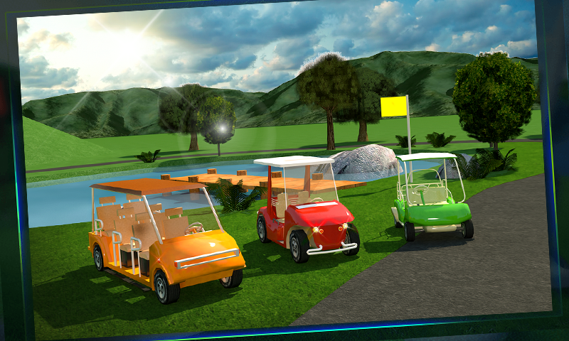 Golf-Cart-Simulator-3D 14